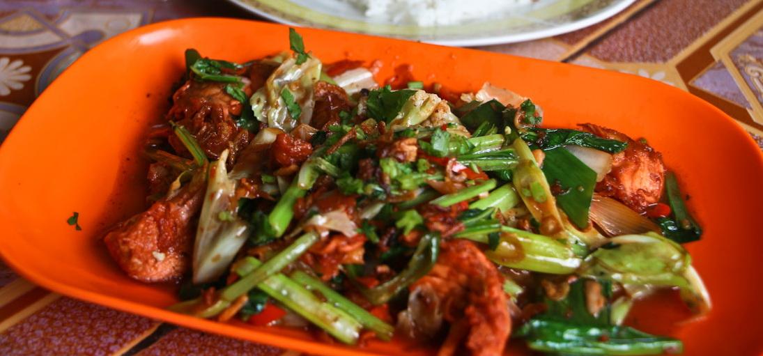 Ayam Goreng Sayur - Bali Catering