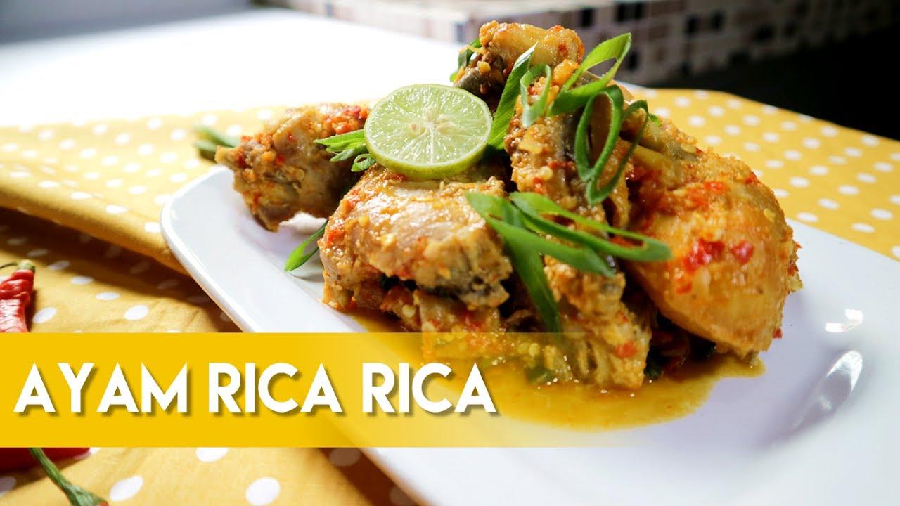 ayam rica - rica - bali catering