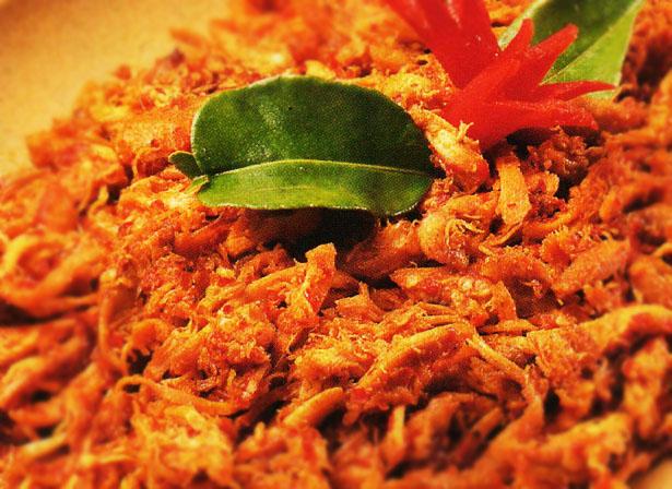 Ayam sisit - Ayam Suwir - Bali Catering